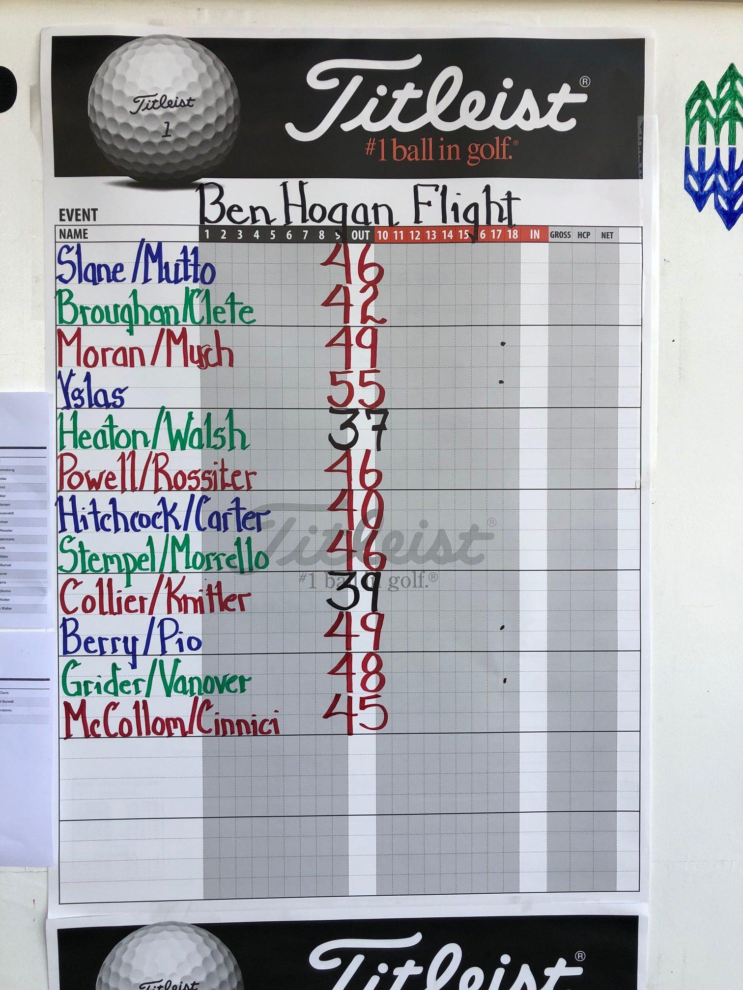 Ben Hogan Flight